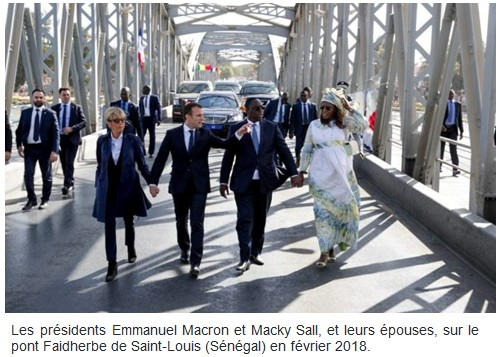 Macron et Sall