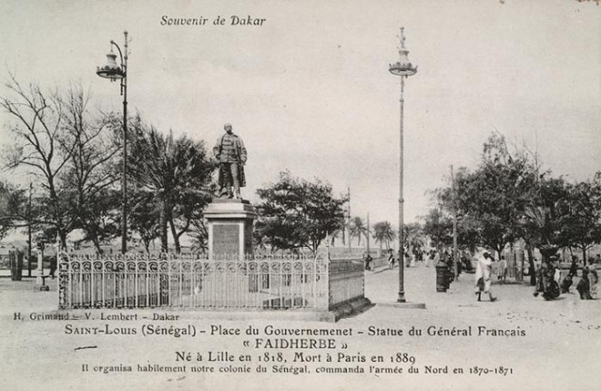 Statue Faidherbe Saint-Louis